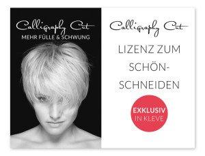 Haargenau Calligraphy Cut Mehr Fülle und Schwung